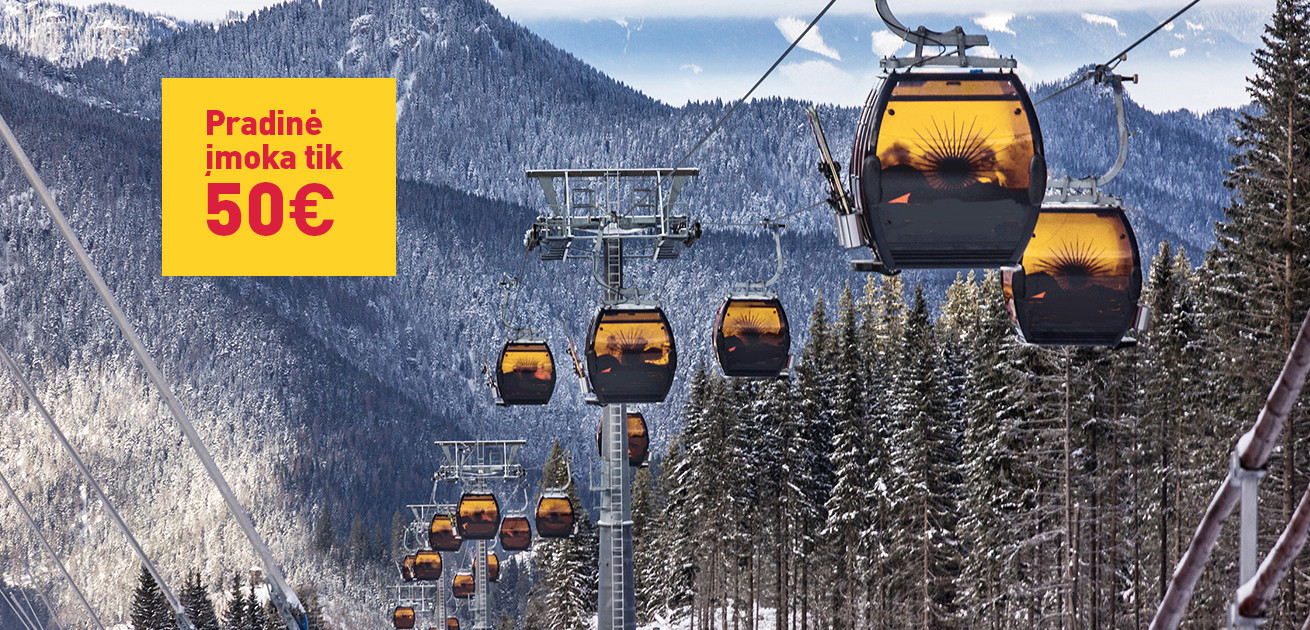 Išlaikyk atostogų ritmą – užsisakyk slidinėjimo kelionę iš anksto!