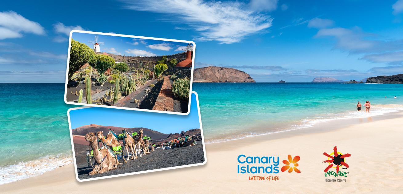 Зимний отпуск на одном из Канарских островов - Лансароте