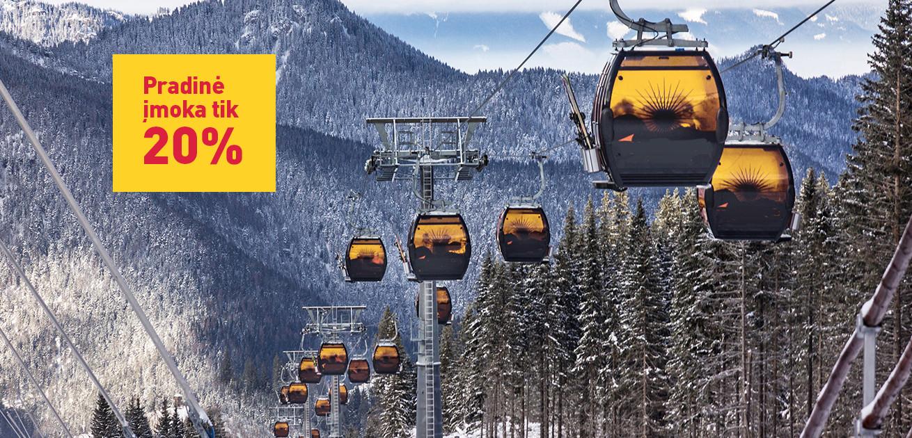 Išlaikyk atostogų ritmą – užsisakyk žiemos sezono slidinėjimo kelionę iš anksto!