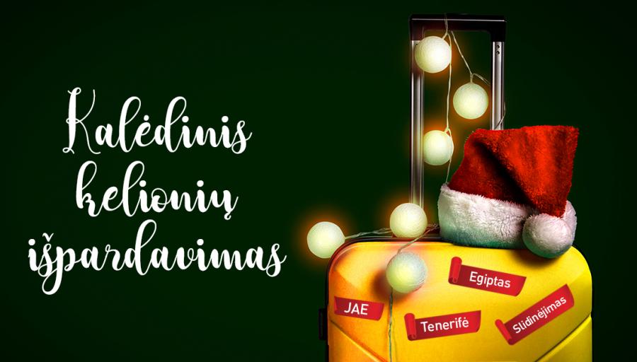 Pakuojame įspūdžius | Kalėdinis kelionių išpardavimas – poilsis Tenerifėje, Egipte, JAE, o gal slidinėjimas Italijoje ar Prancūzijoje?