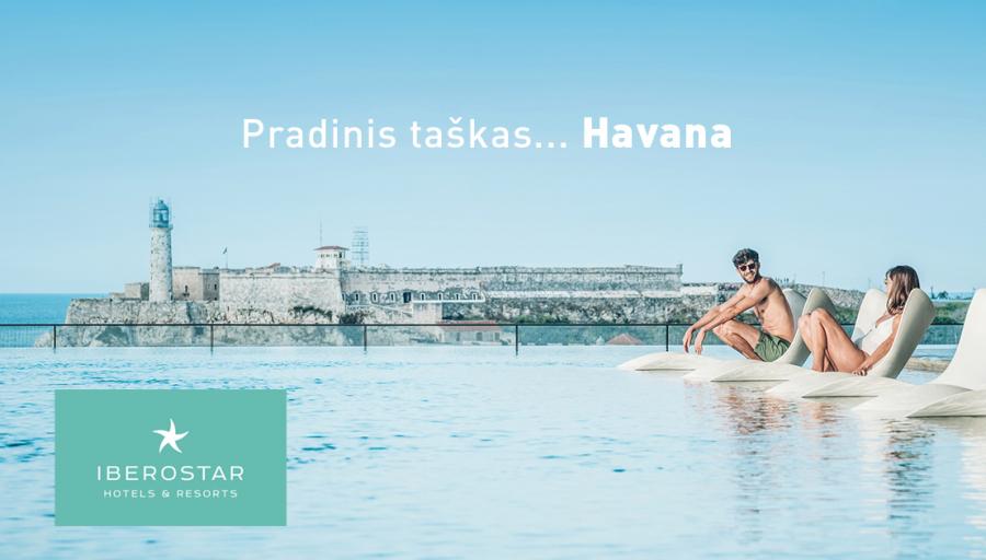 """Nepakartojamas žiemos atostogas leiskite """"Iberostar"""" tinklo viešbučiuose Kuboje!"""