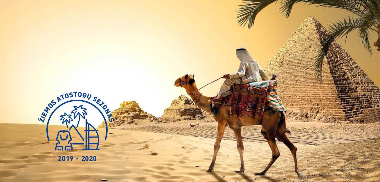 Savaitės atostogos Egipte! Skrydžiai su bagažu, pervežimai ir 7n. viešbutyje su pusryčiais!