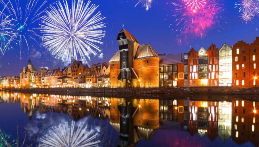 Naujieji Metai Gdanske: kelionė autobusu, naktis viešbutyje su pusryčiais ir ekskursinė programa!
