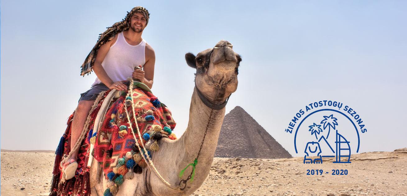 """Žiemą pasitikite Egipte! Pilnas kelionės paketas su """"viskas įskaičiuota"""" maitinimu prabangiame 5* viešbutyje!"""