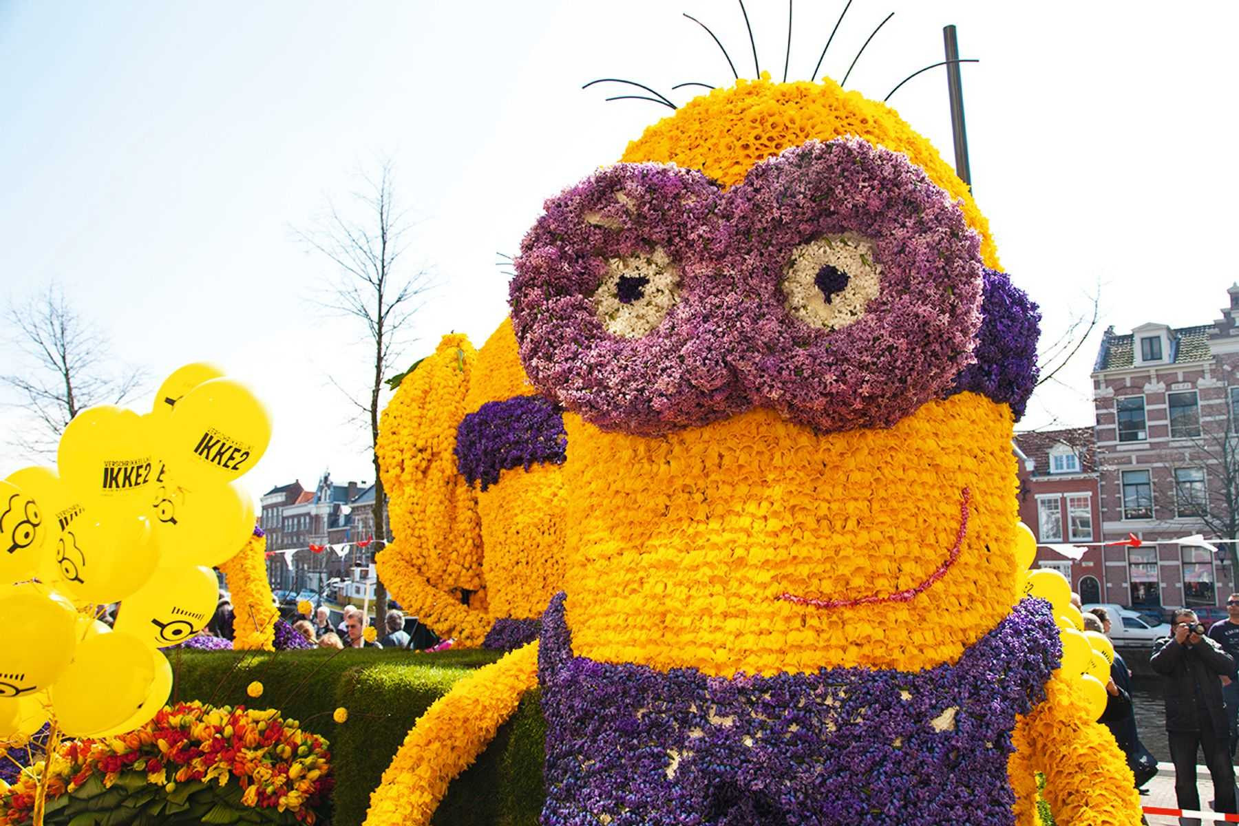 Tik kartą metuose – jurginų skulptūrų paradas Olandijoje! Nepamirštama 6 dienų pažintinė kelionė autobusu!