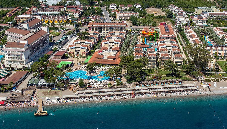 Crystal Aura Beach Resort Spa Hotel Antalya Turkey Novatours