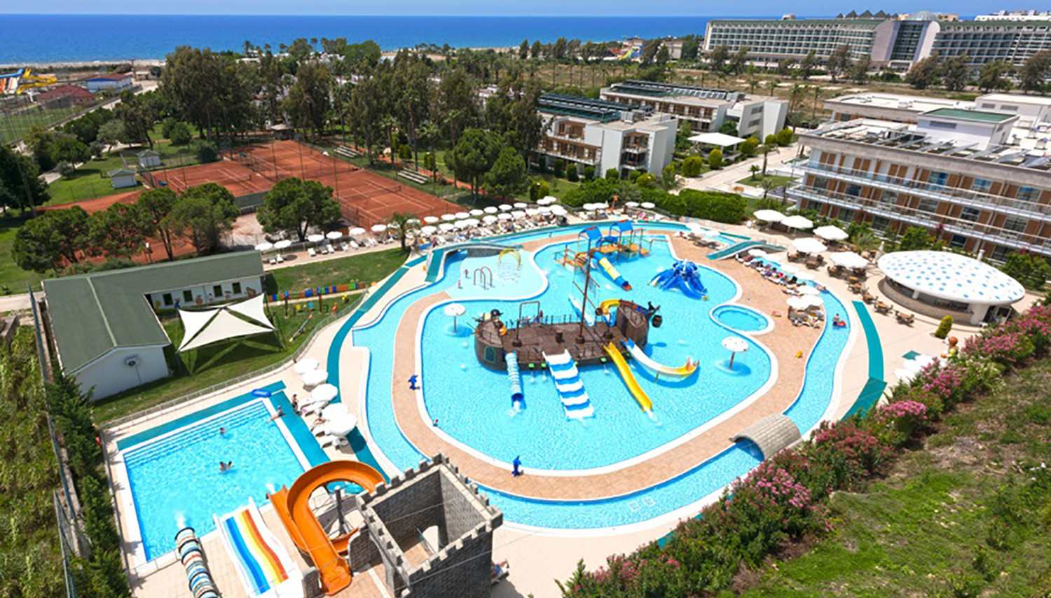 Club Kastalia Holiday Village (Antālija, Turcija)