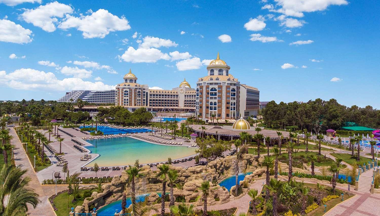 Delphin Be Grand Resort (Antālija, Turcija)