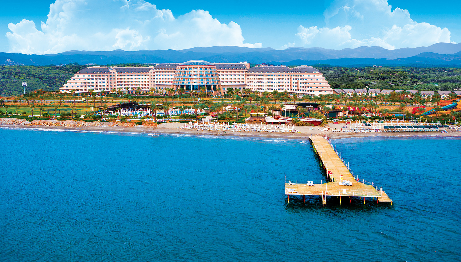 Long Beach Resort & SPA (Antālija, Turcija)