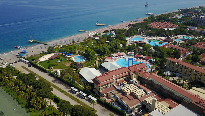 Queens Park Le Jardin Resort (Antālija, Turcija)