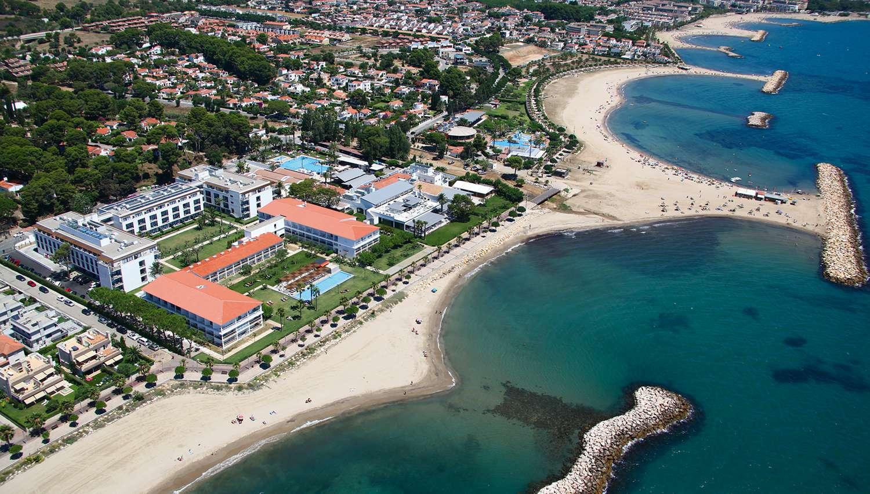 Costa Brava Costa Dorada Karte.Estival Eldorado Resort Viesbutis Barselona Ispanija