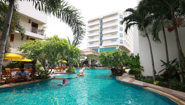 Sea Breeze Jomtien Resort (Bangkoka, Taizeme)