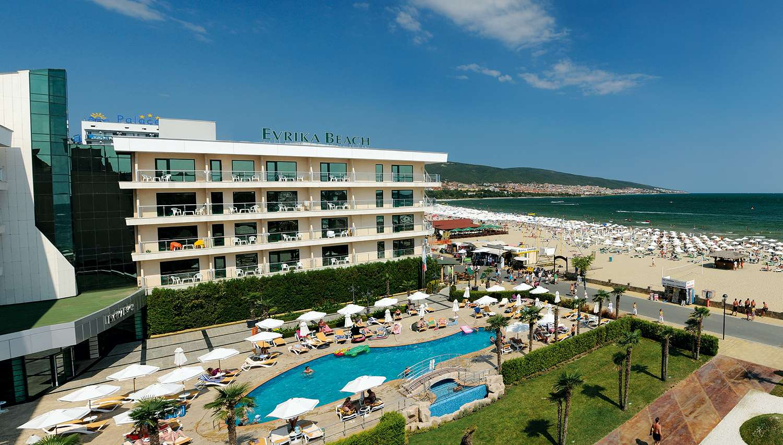 DIT Evrika Beach Club Hotel (Burgasa, Bulgārija)