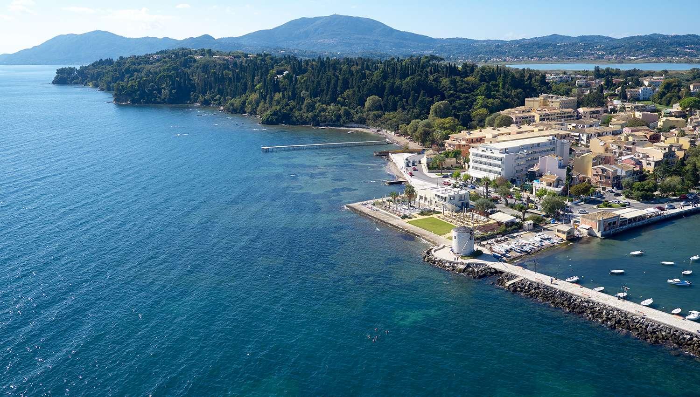 """Mayor Mon Repos Palace """"Art Hotel"""" (Korfu, Grieķija)"""