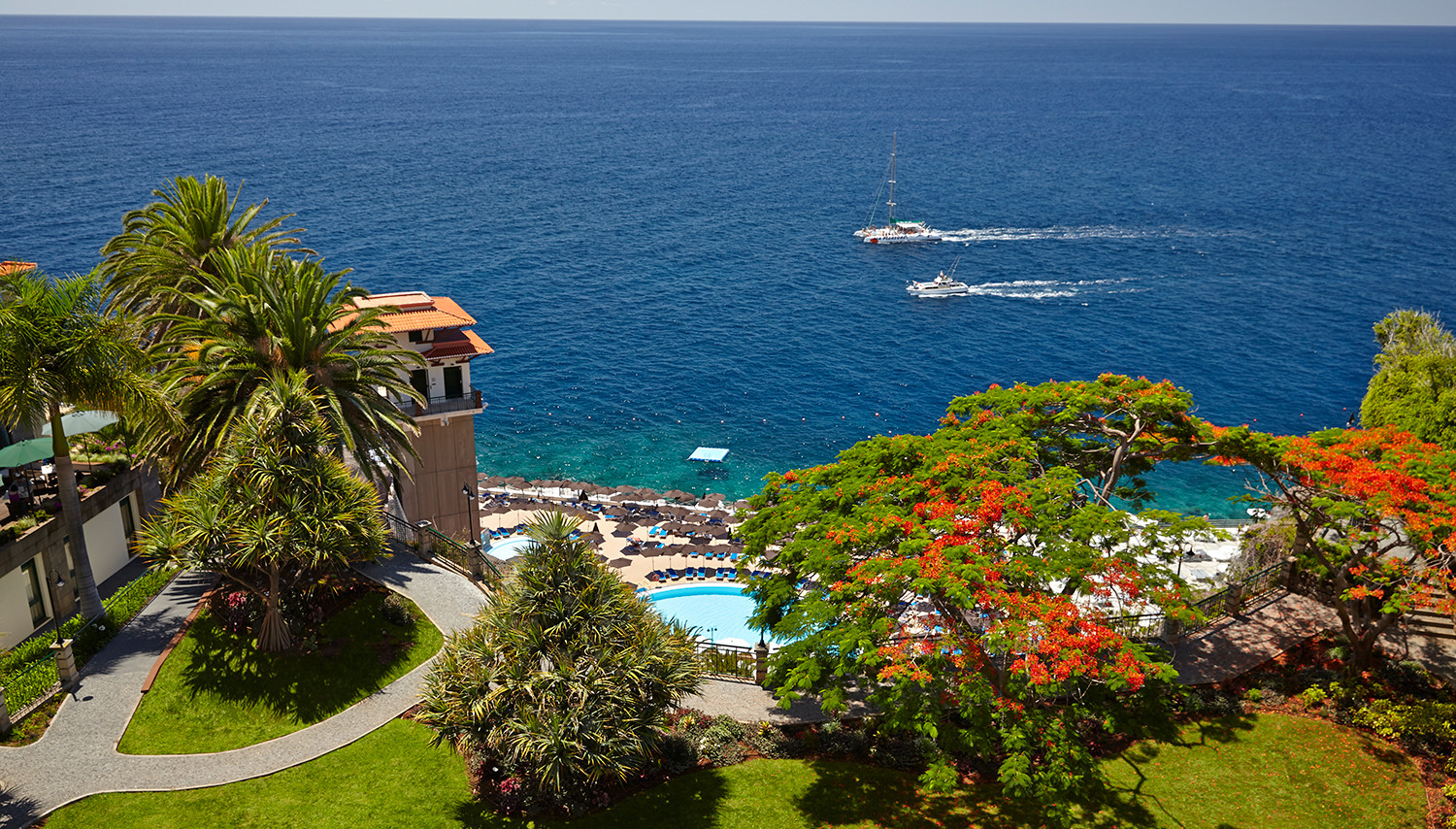 The Cliff Bay (Madeira, Portugāle)