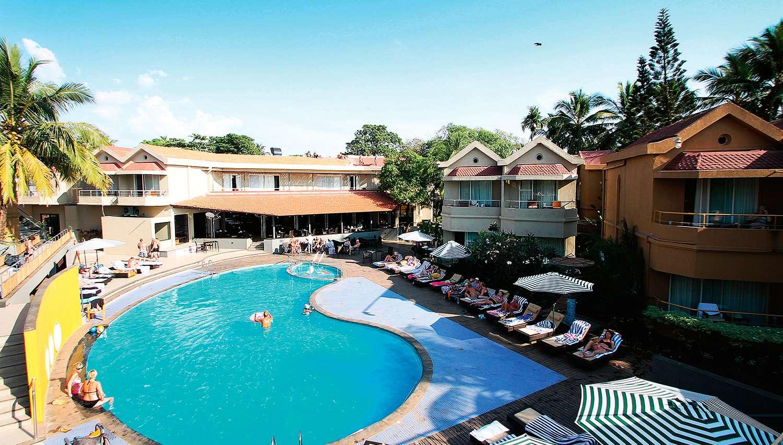 Whispering Palms Beach Resort hotel (Goa, India
