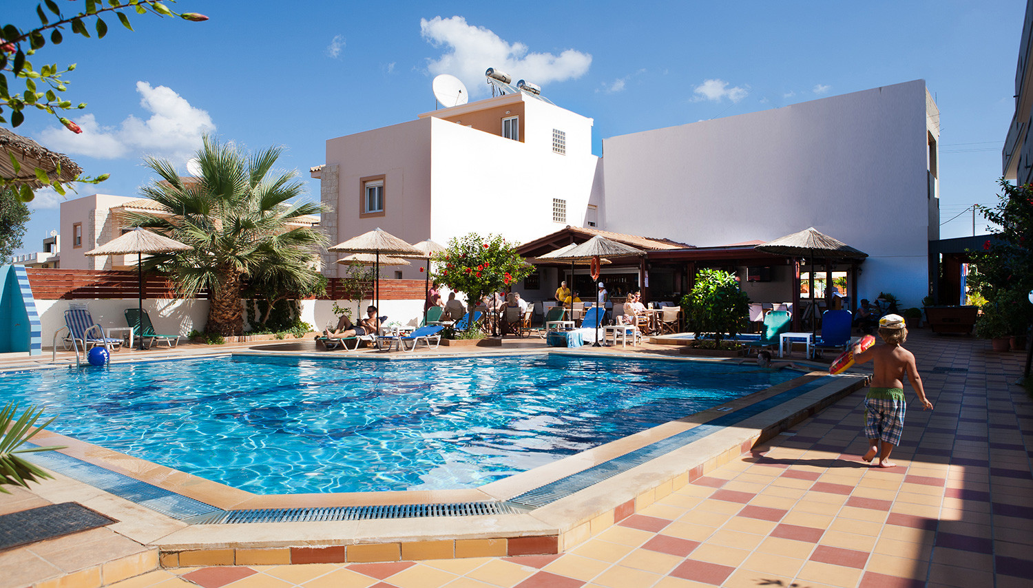 Hotel Anthoula Village 4 (Greece, Hersonissos): photo with description, service, tips and reviews of tourists 9