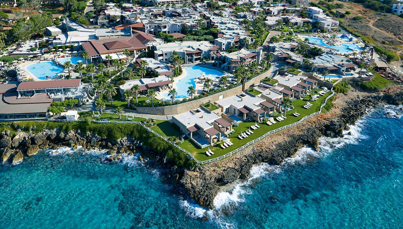 ikaros beach luxury resort spa hotell heraklion kreeka. Black Bedroom Furniture Sets. Home Design Ideas