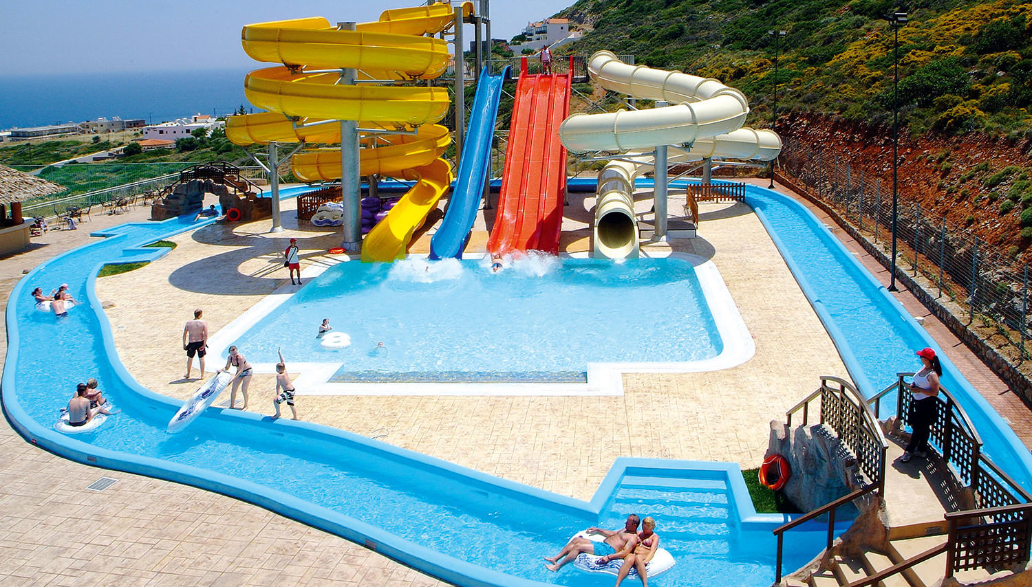 Smartline The Village Resort & Water Park (Krēta, Grieķija)