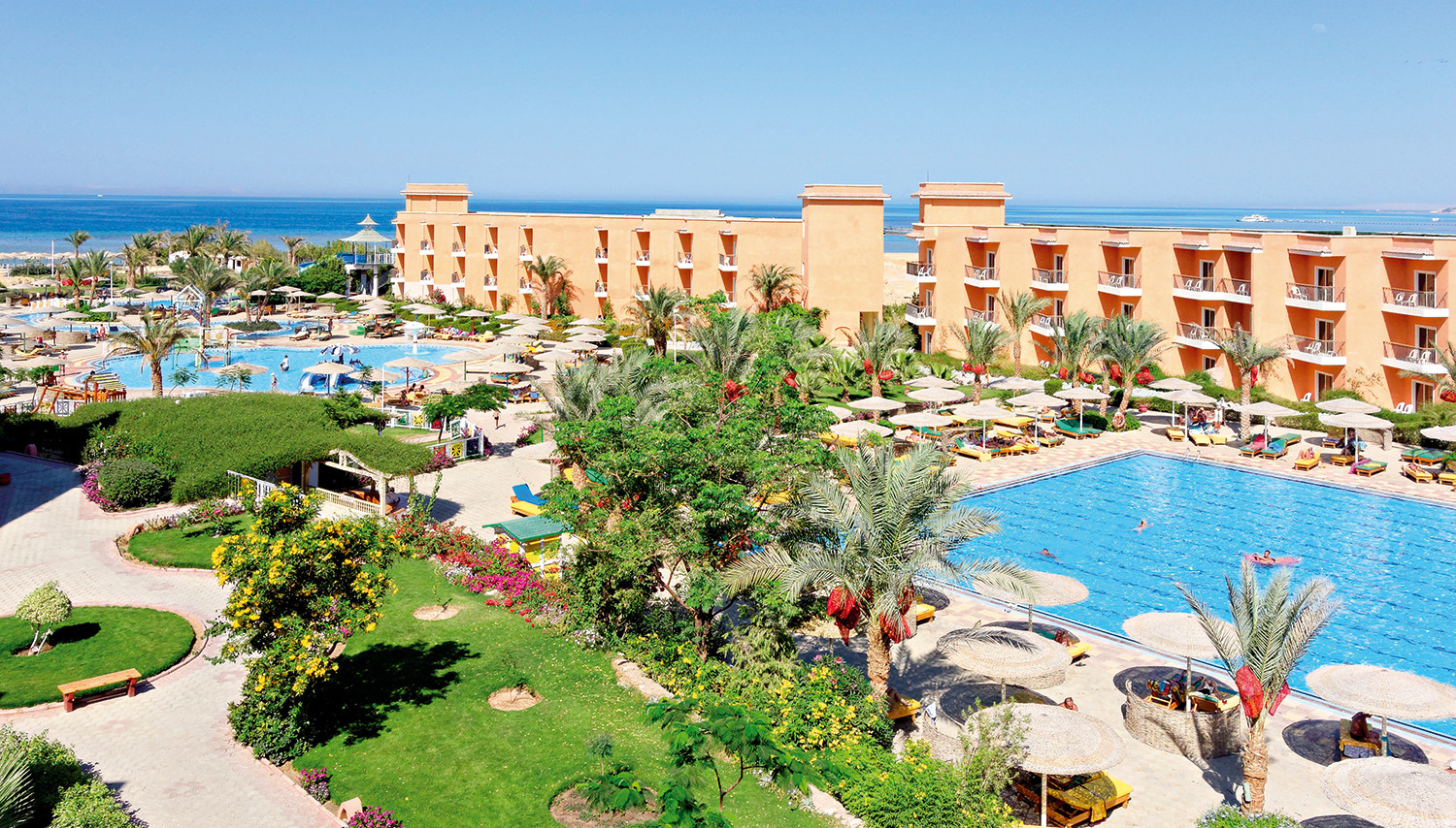 The Three Corners Sunny Beach Resort (Hurghada, Egiptus)