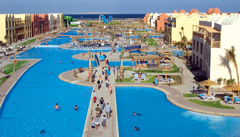 Titanic Beach Spa & Aqua Park (Hurghada, Egiptus)