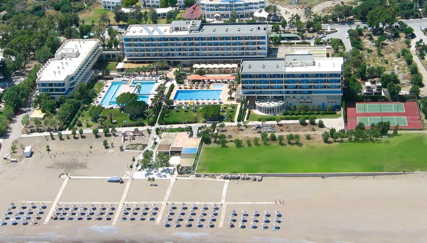 Blue Sea Beach Resort (Rodas sala, GrieÄ·ija)