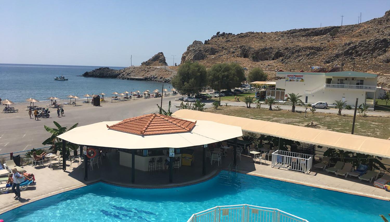 Kamari Beach (Rhodos, Kreeka)