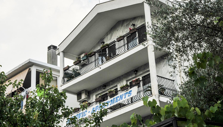 Mijovic apartemendid (Tivat, Montenegro – Horvaatia)