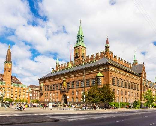 Danija. Kopenhagos rotušė