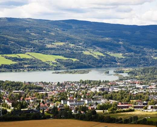 Norvegija. Lilehameris