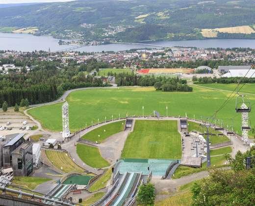 Norvegija. Lilehameris. Olimpinis kaimelis