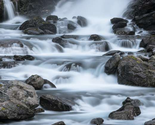 Norvegija. Stigfoso krioklys