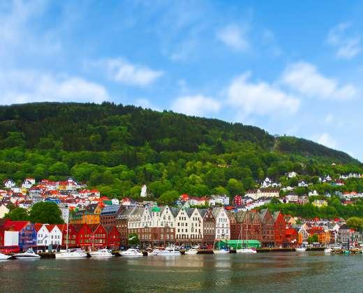 Norvegija. Bergenas