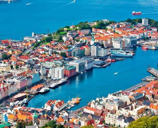 Norvegija. Bergenas.