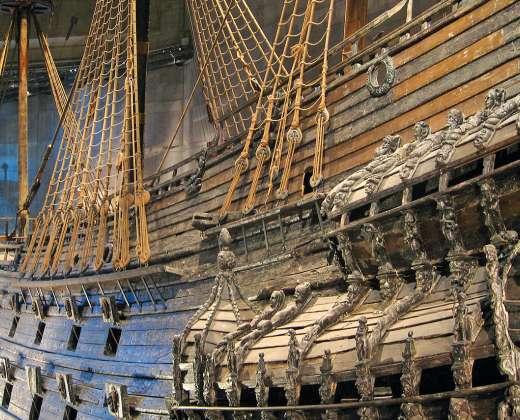 Stokholmas. Vazos laivas