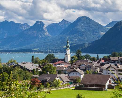 Austrija. St. Gilgeno miestelis