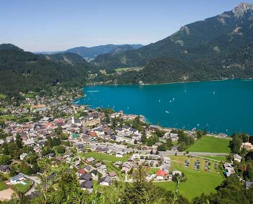 Austrija. St. Vaizdas nuo Zwolferhorn viršukalnės
