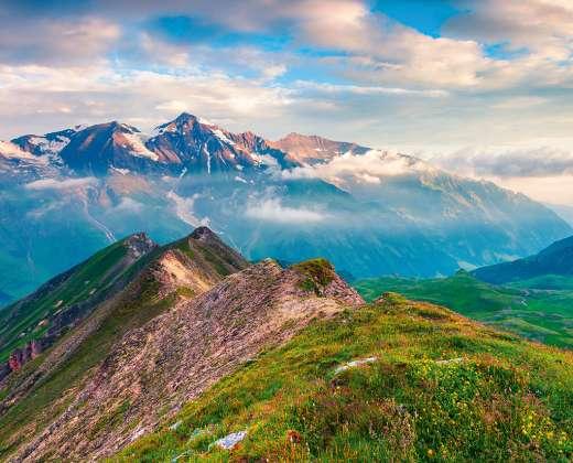 Austrija. Alpės