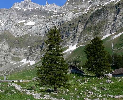Šveicarija. Santis