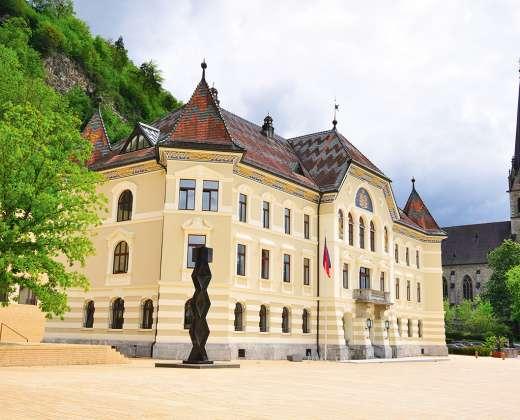 Lichtenšteinas. Vaducas