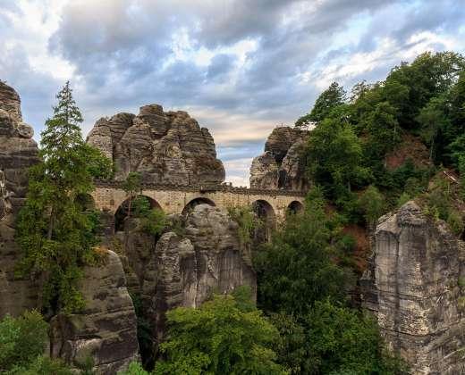 Vokietija. Bastėjos tiltas