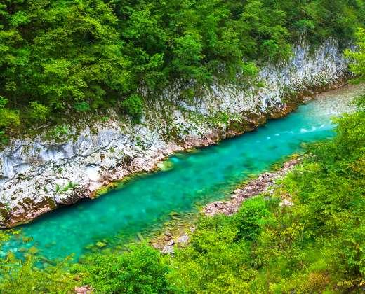 Juodkalnija. Taros kanjonas