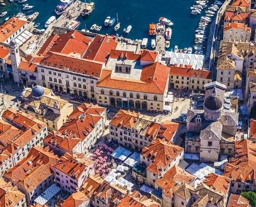 Koatija. Dubrovniko senamiestis