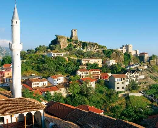 Albanija. Krujos miestas