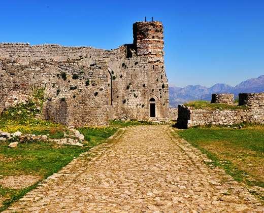 Albanija. Škoderis. Viduramžių tvirtovė
