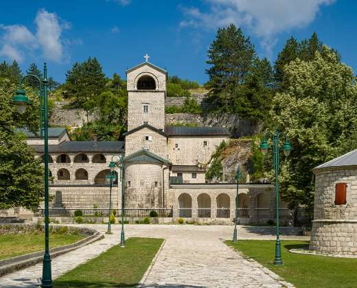Juodkalnija. Cetinje. Šv. Petro vienuolynas