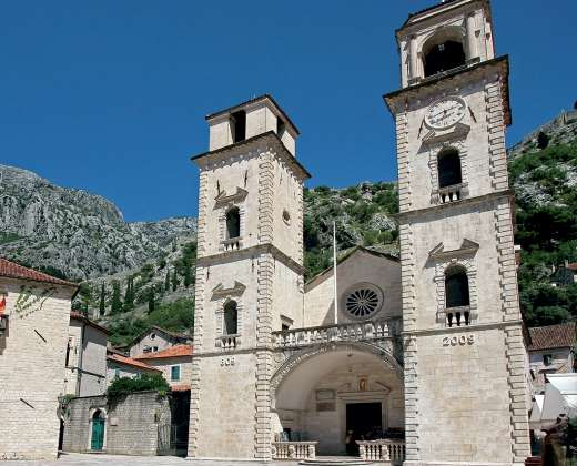 Juodkalnija. Kotoras. Šv. Trifonijaus soboras