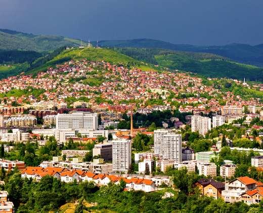 Bosnija ir Hercogovina. Sarajevas