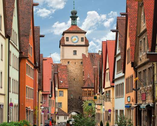 Vokietija. Rotenburgas prie Tauberio.