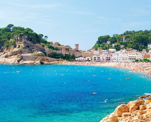 Ispanija. Tossa de Mar.